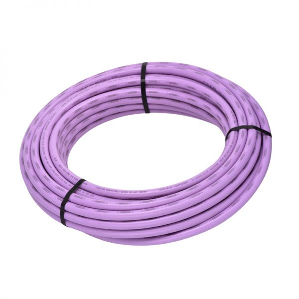 lilac poly pipe