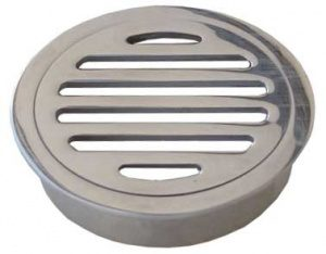 round slotted grate
